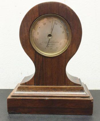Desk barometer