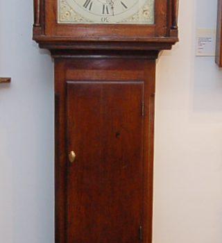 English long case clock
