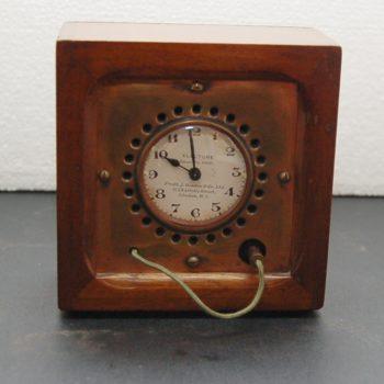 English radio timer clock