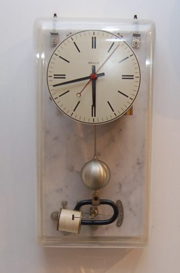 French battery clock