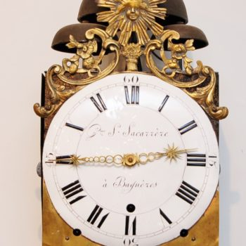 French comtoise clock