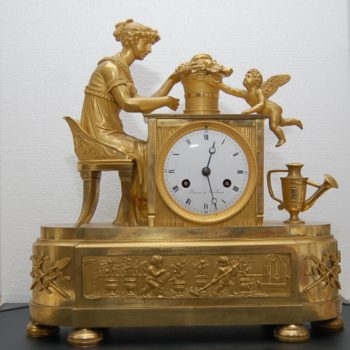 French mantle clock_0298