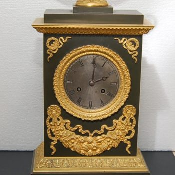 French mantle clock_0324