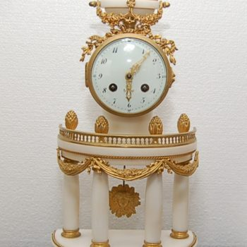 French mantle clock_0325