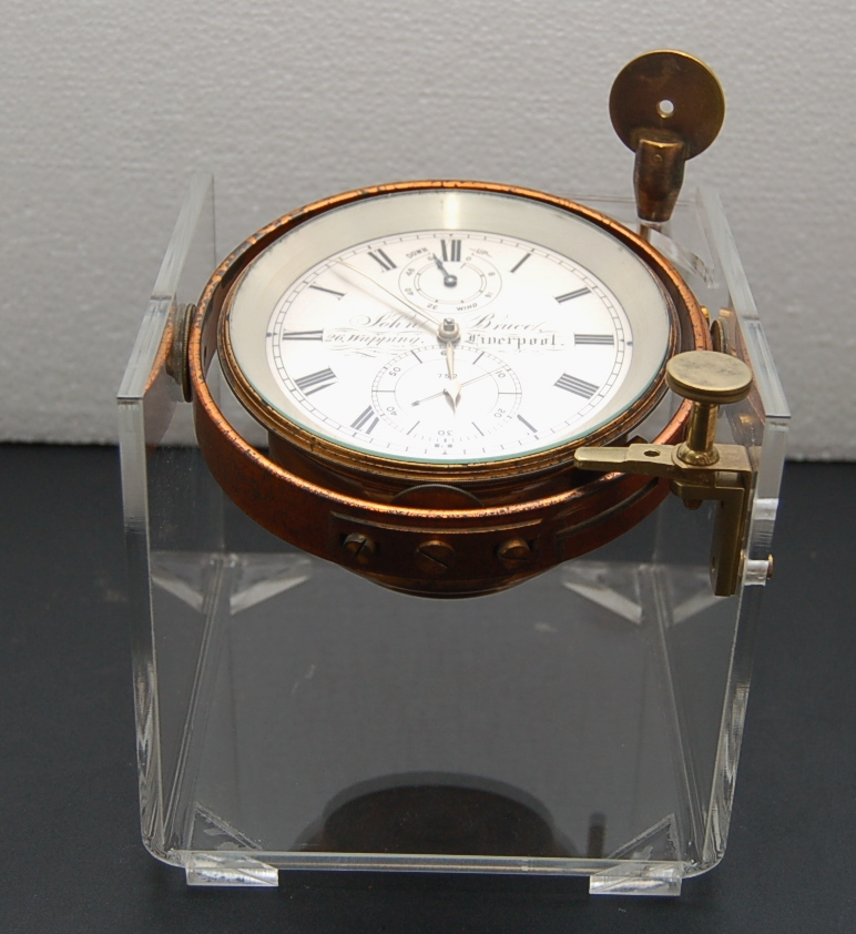 liverpool antique chronometer number 752