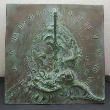 Louis Ragot bronze sun dial_0305