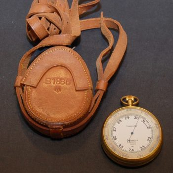Army pocket barometer