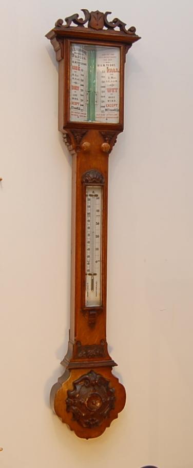 Dublin stick barometer