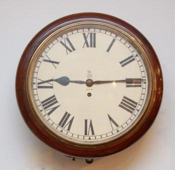 English post office clock