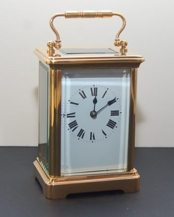 Swiss desk clock