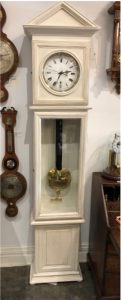 antique grandfather clock also called a longcase clock